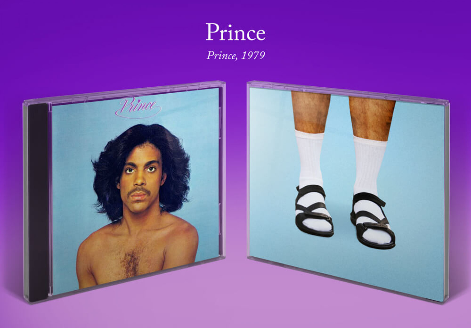 The Shoes Behind the Album: Prince Infographic