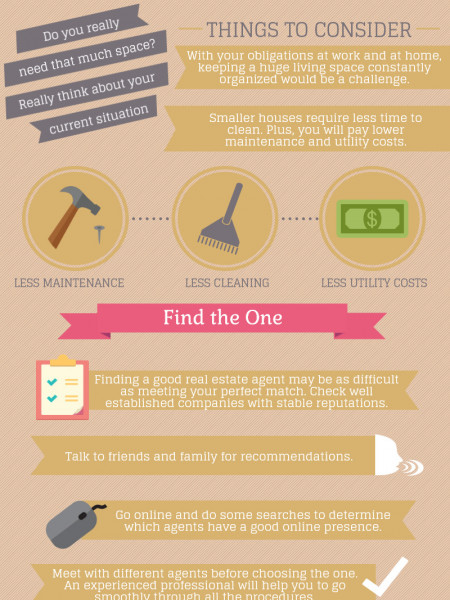 The Single Woman's Guide to Buying a New Home Infographic