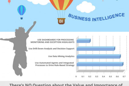 The sky is the limit with great BI. See what other businesses are doing! Infographic