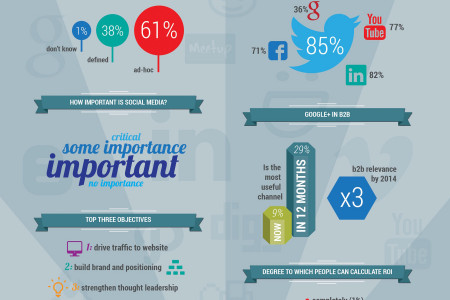 The State of B2B Social Media Infographic
