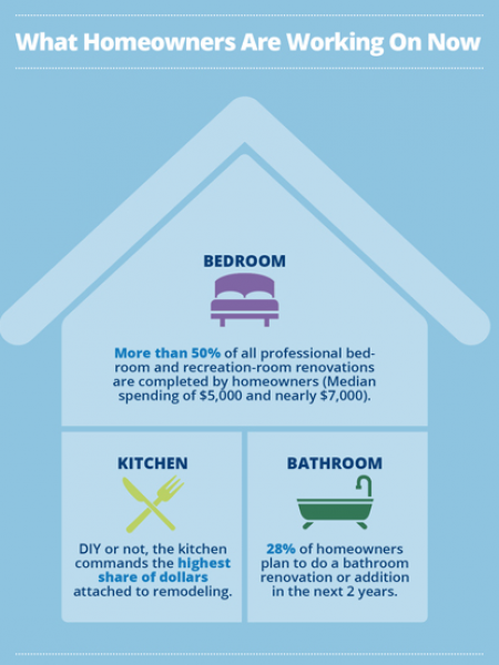 The State of DIY & Home Renovations Infographic