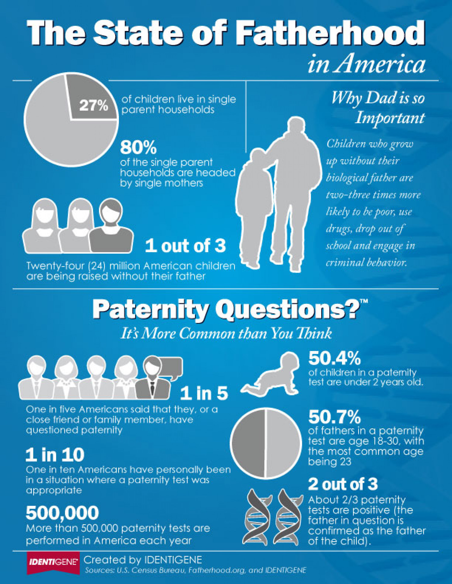 The State of Fatherhood Infographic