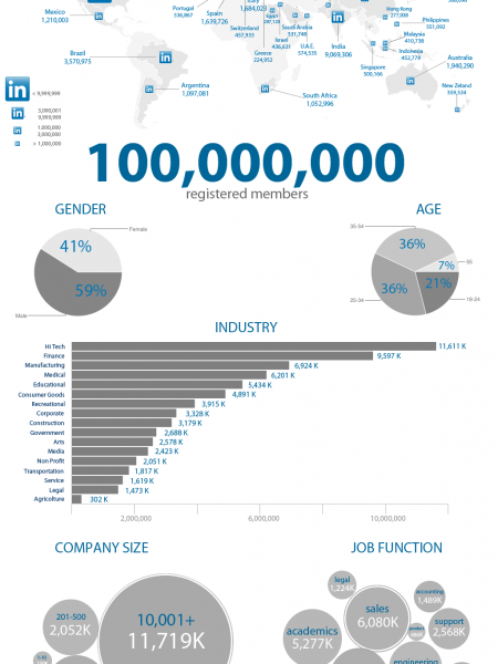The State of Linkedin Infographic