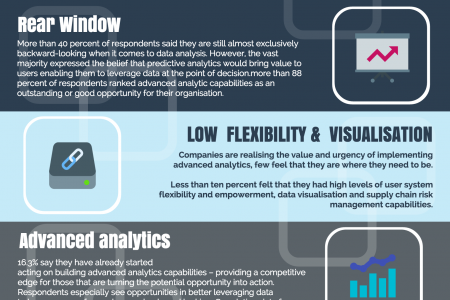 The State of Supply Chain Analytics Infographic