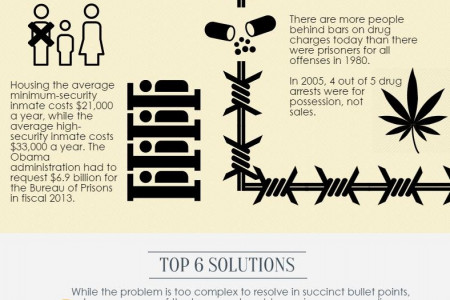 The State of the U.S. Prison System Infographic