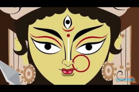 The Story of Goddess Durga Infographic