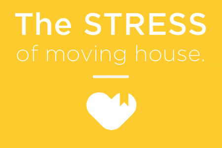 The Stress Of Moving House Infographic