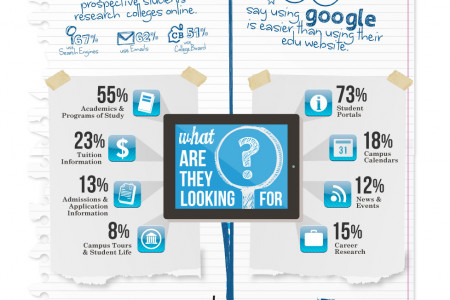 The Student Experience Online Infographic