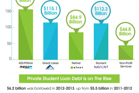 The Student Loan Debt Crisis By The Numbers Infographic