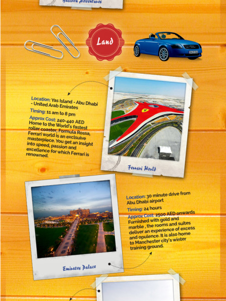 The Three Realms of UAE Infographic