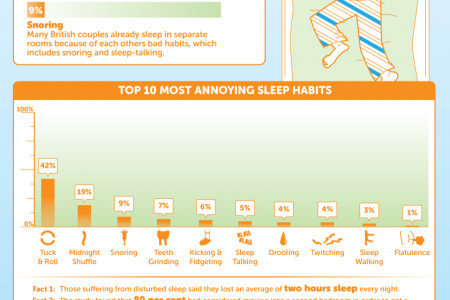 The Top 10 Britons Bad Sleep Habits Infographic
