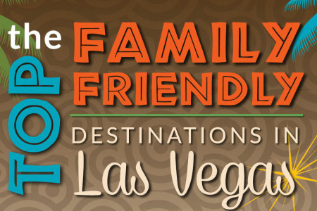 The Top Family Friendly Destinations in Las Vegas Infographic