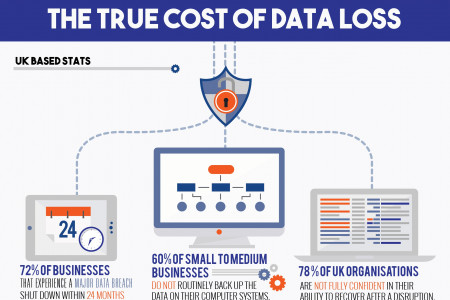 The True Cost of Data Loss Infographic