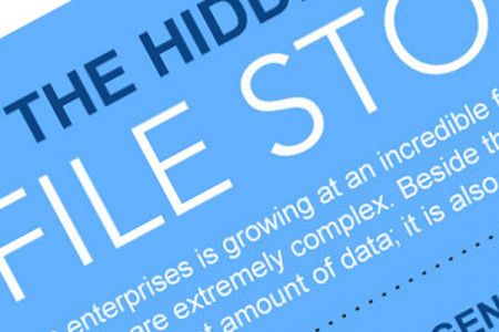 The truly hidden cost of File Storage Infographic