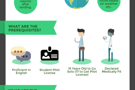The Truth about Becoming a Pilot Infographic