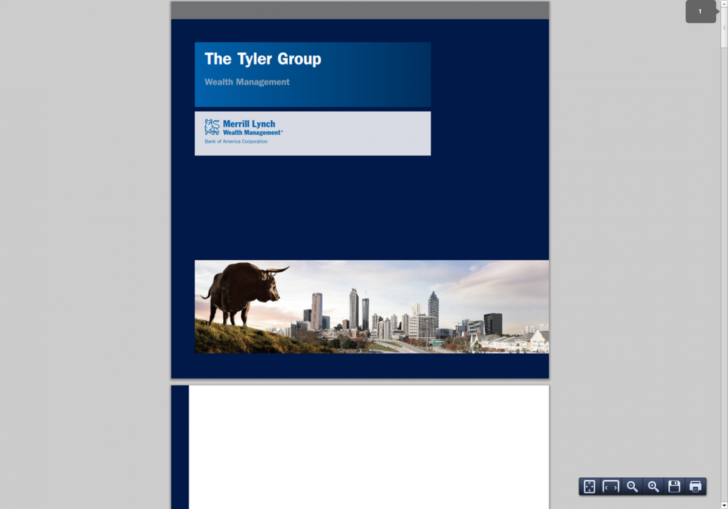 The Tyler Group Wealth Management: Helping to take the emotion out of financial decisions Infographic