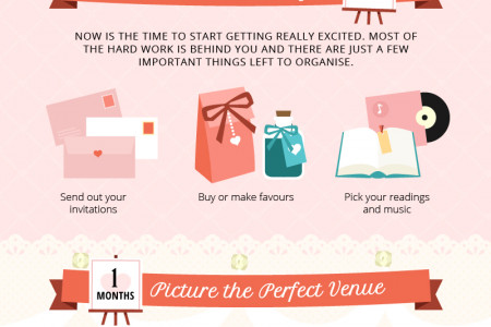 The Ultimate 12 Month Wedding Guide Infographic
