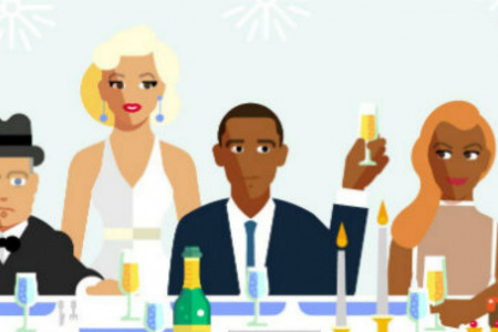 The Ultimate Dinner Party Guestlist Infographic