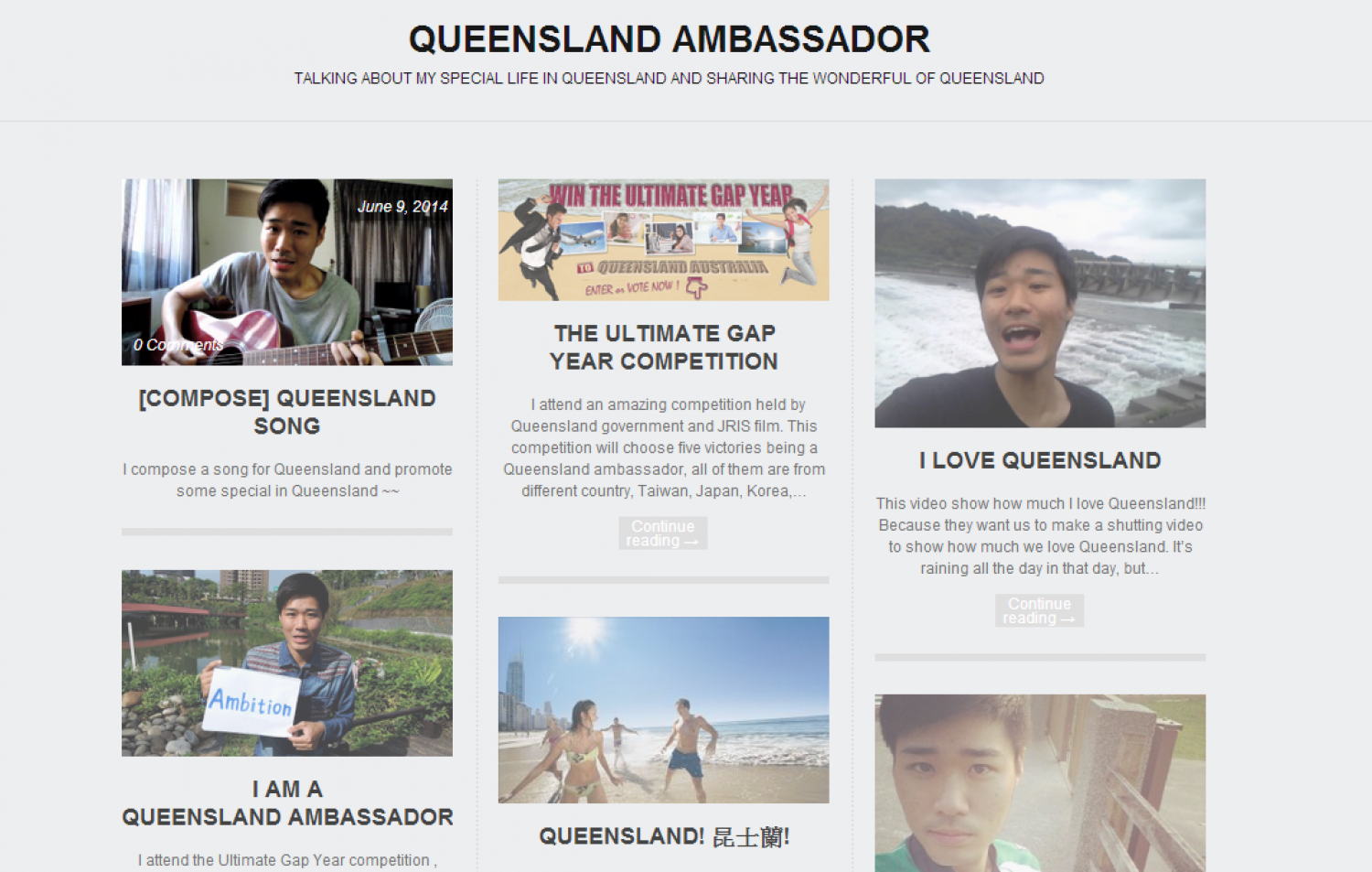 Queensland Ambassador Infographic