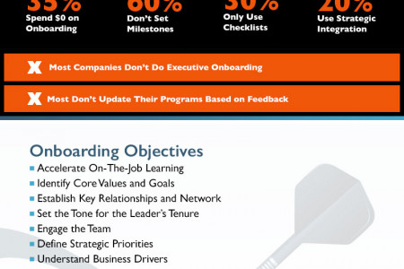 The Ultimate Guide to Executive Onboarding Infographic