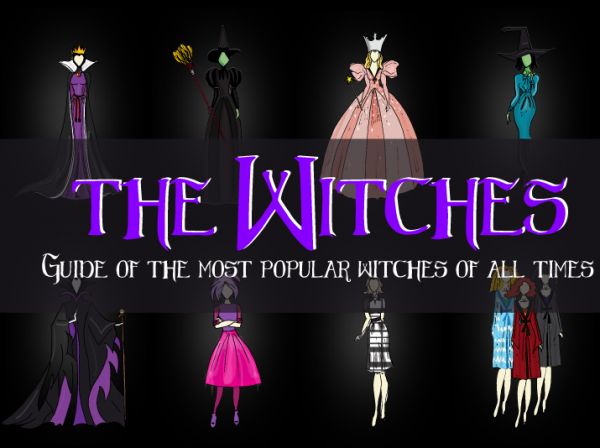 The Ultimate Witches Collection - Can You Recognize All of Them?