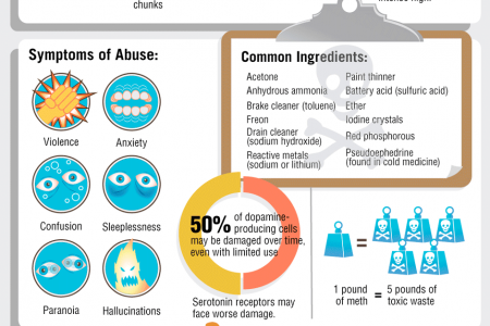 The United States of Meth Infographic