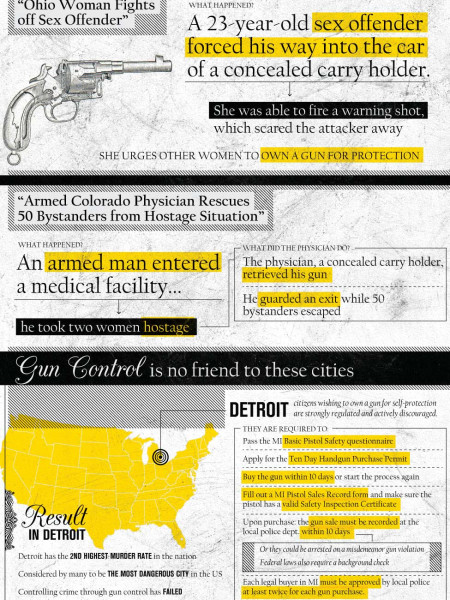 The Value of a Well-Armed Citizenry Infographic