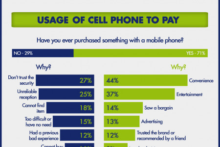 The Value Of Mobile Payments (2012) Infographic