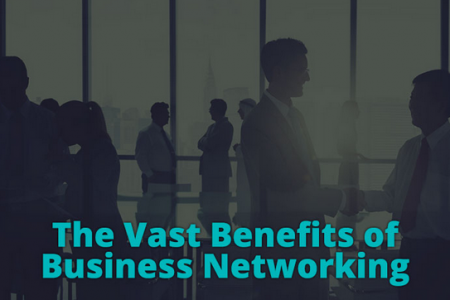 The Vast Benefits of Business Networking Infographic