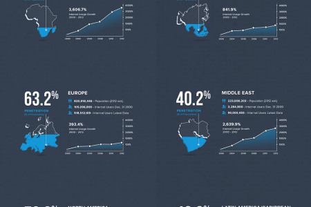 The World Internet Usage Infographic