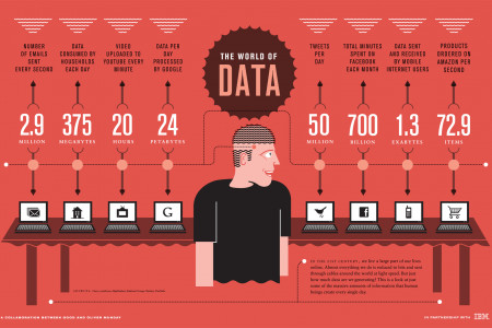 The World of Data Infographic