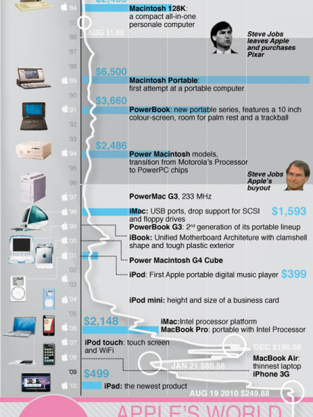 The World Without Apple  Infographic