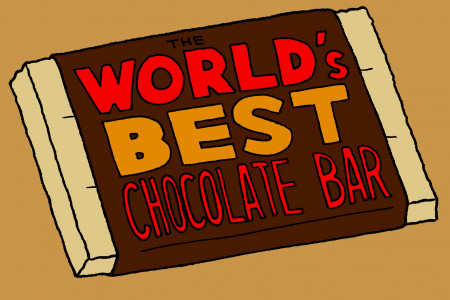 The World's Best Chocolate Bar Infographic