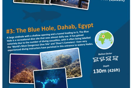 The World's Deadliest Dives Infographic