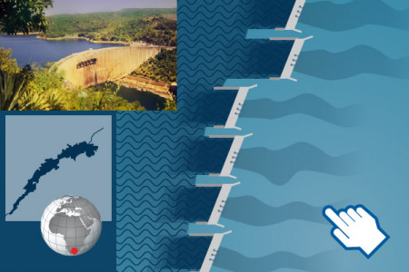 The world's largest dams Infographic