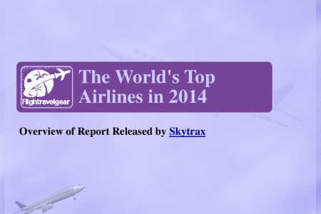 The World's Top Airlines in 2014 Infographic