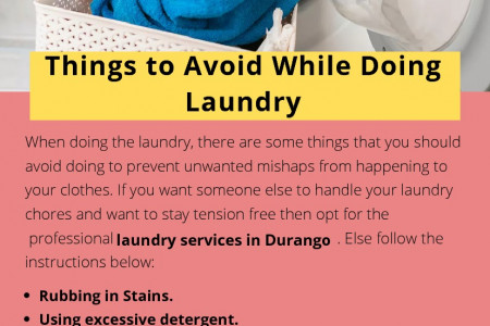 Things to Avoid While Doing Laundry Infographic
