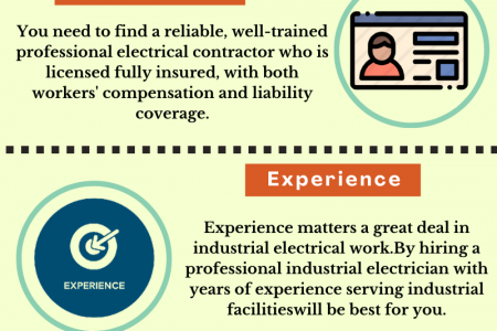 Things to Check Before Hiring Industrial Electrical Contractor Infographic