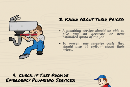 Things to Consider Before Choosing Plumber Services Infographic