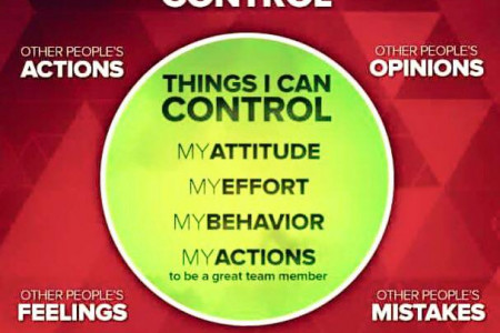Things to Control in life Infographic