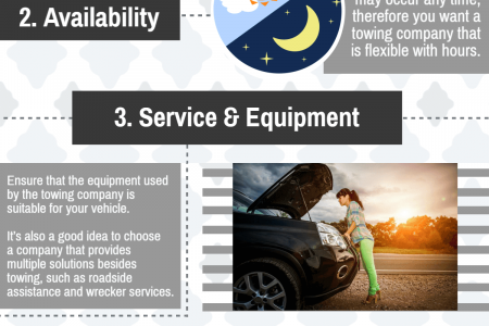 Things to look for in a Towing Service Infographic