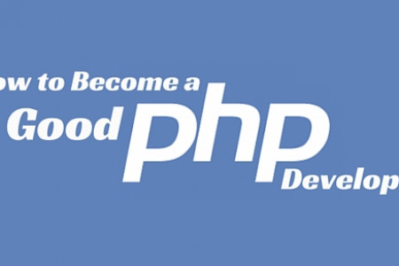 Things you can do to become a better PHP developer Infographic