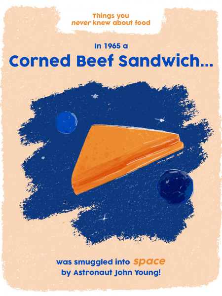 Things You Didn't Know About Food: Corned Beef Infographic