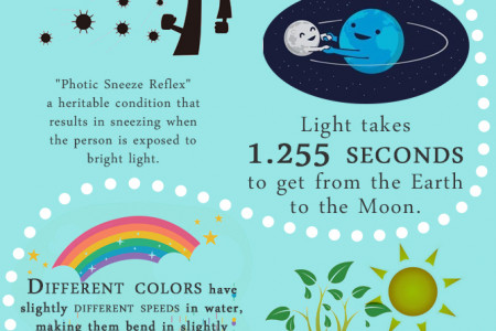 Things You Didn't Know About Light Infographic