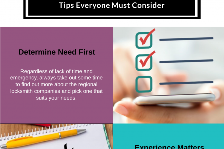 Things You Must Consider Before Trusting A Company Like a Locksmith Arlington TX Infographic