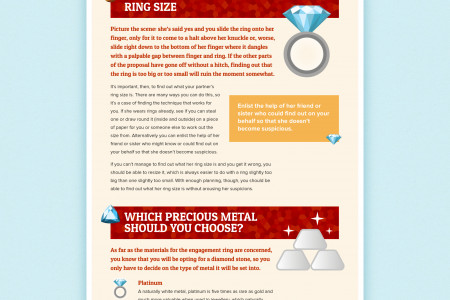 Things You Should Consider Before Buying and Engagement Diamond Ring Infographic