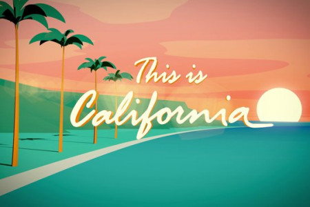 THIS IS CALIFORNIA Infographic