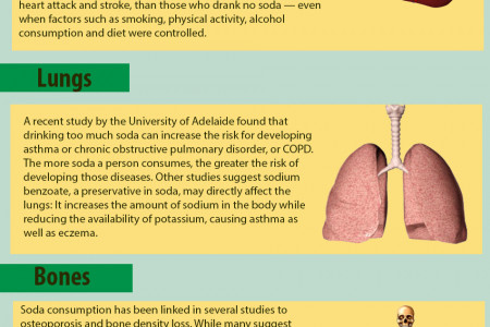 This is what happens when you drink soda Infographic