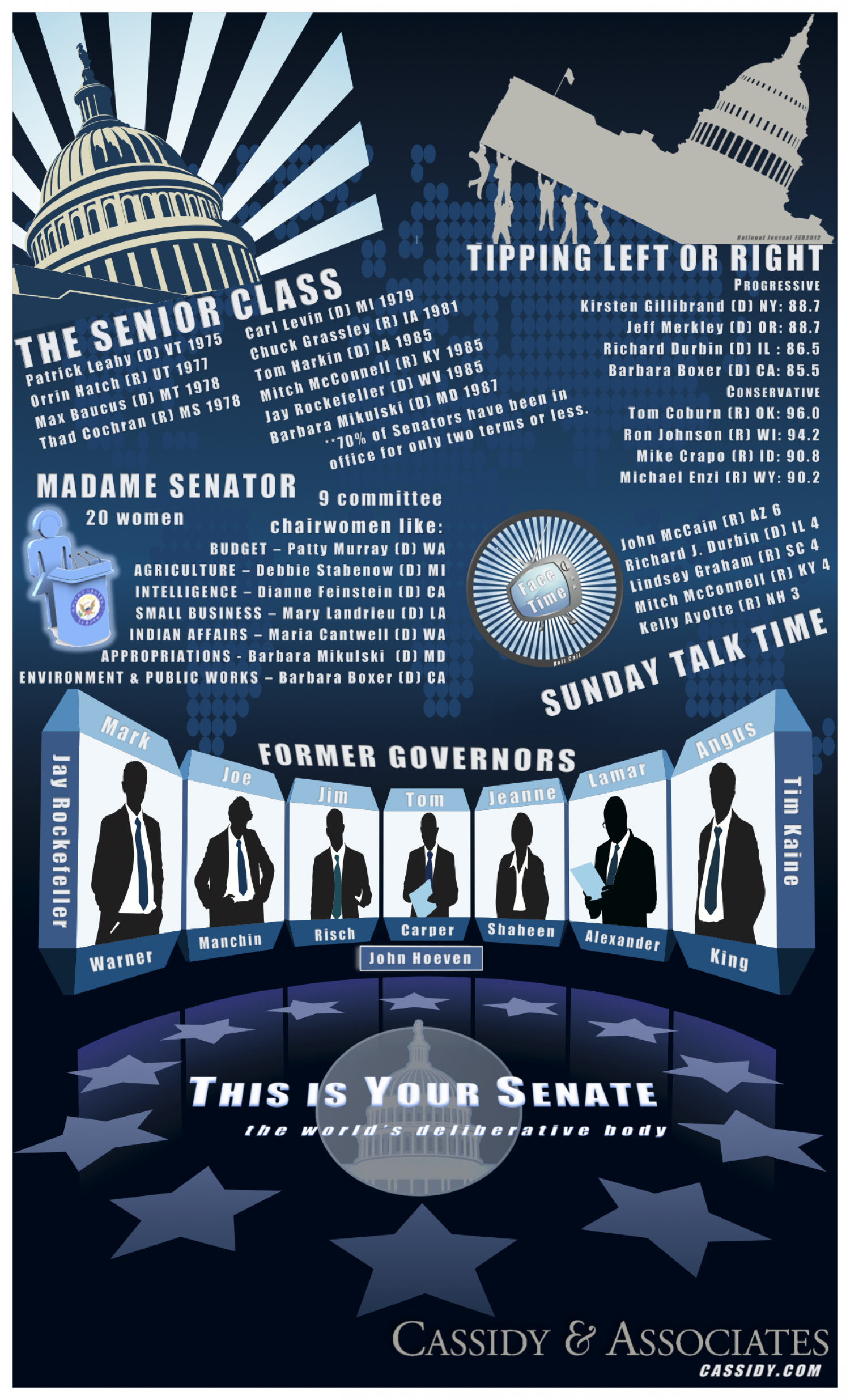 This Is Your Senate, the world's deliberative body Infographic