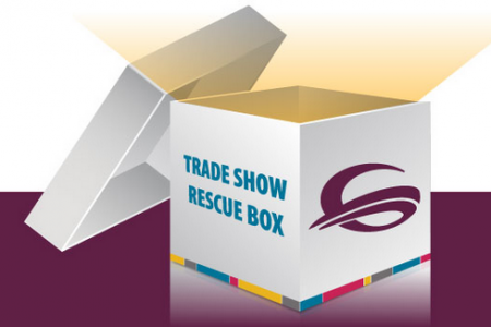 This One Little Box Could Rescue Your Trade Show Infographic